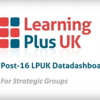 New video of our Post-16 LPUK Datadashboard for Strategic Groups available