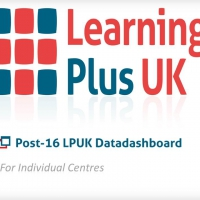 New video of our Post-16 LPUK Datadashboard for Individual Centres available